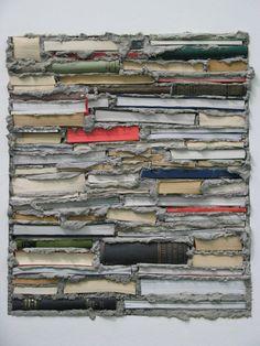 Artist - Luis Camnitzer   Books and concrete.