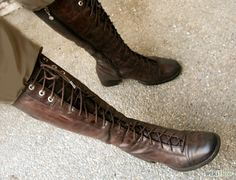 The best field boots have laces AND a zipper. Katniss Costume, Masquerade Party, Love S, Black Boots, Combat Boots, Footwear, Zipper, Costumes, Skinny