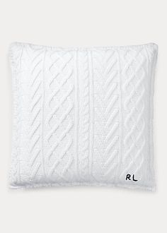 Ralph Lauren Shop, Luxury Throws, Bedding Collections, Pillow Inserts, Cable Knit, Decorative Pillows, Bed Pillows, Design, Psychiatry