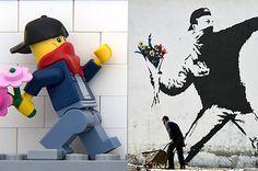 Lego Banksy