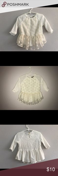 Oshkosh kids ivory peplum girl shirt size 4T Oshkosh kids ivory peplum girl shirt size 4T. Excellent condition. oshkosh kids Shirts & Tops Blouses