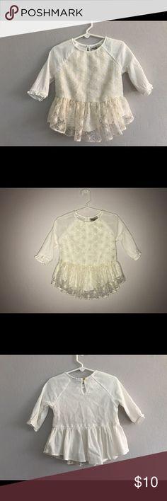 Oshkosh kids ivory peplum girl shirt size 4T Oshkosh kids ivory peplum girl shirt size 4T. Excellent condition. oshkosh kids Shirts & Tops Blouses