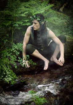 By the clear, cold and fresh river stream, you are waiting for me until I will come to you, my Eternal Lover. (Image: The changeling~Rivendell Studios)