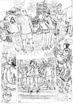 Kim Jung Gi sketchbook