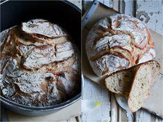 Lecreuset, Dessert, Bread, Food, Dutch Oven Bread, Kuchen, Good Food, Food And Drinks, Deserts