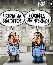 """Enquanto os """"militontos"""" ficam se matando, os políticos, matam o Brasil."""