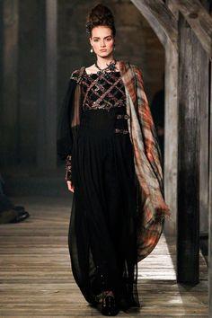 Moda del mundo real (Chanel otoño-invierno 2013)