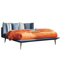 Gestoffeerd bed Brogan