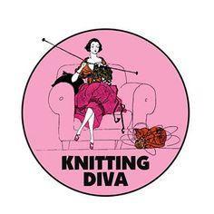knitting diva...me :-)