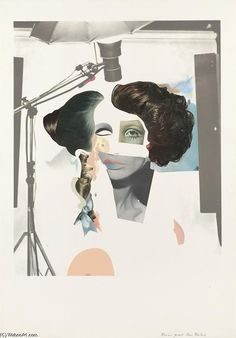 View Fashion-plate by Richard Hamilton on artnet. Browse more artworks Richard Hamilton from Sims Reed Gallery. Jasper Johns, Arte Pop, Andy Warhol, Richard Hamilton Pop Art, Robert Rauschenberg, Wessel, Cool Magazine, Magazine Covers, Feminist Art