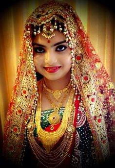 #indian #bride #bridal #makeup