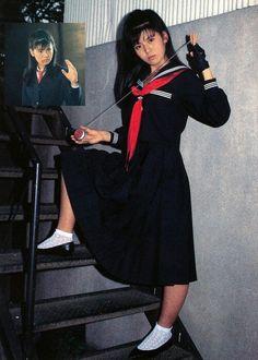 """Yoko Minamino in """"Sukeban Deka 2"""""""