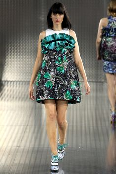 Mary Katrantzou Spring 2014 Ready-to-Wear Fashion Show - Danielle Zinaich