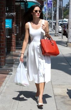 Emmy Rossum Day Dress