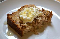 Banana, Honey & Walnut Bread