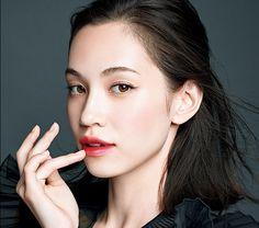 Kiko Mizuhara for Shiseido MAQuillAGE 10th Anniversary