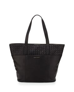 f450fd6d Sam woven leather Cole Haan tote bag $269 Last Call.com Black Leather Tote  Bag