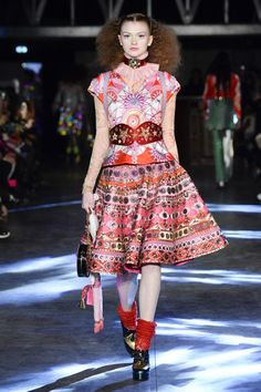 Catwalk photos and all the looks from Manish Arora Spring/Summer 2016 Ready-To-Wear Paris Fashion Week