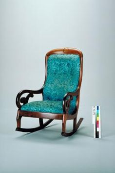 Upholstered chair rocking adult