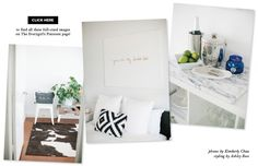 Ashley Rose's Houston Townhouse Tour #theeverygirl.  White walls....fresh clean interiors.  Everything here is awesome!