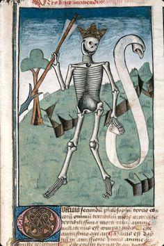 Ars bene moriendi, France, 1470-1480