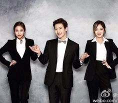Zhou Mi Instagram Update with Jia and Fei
