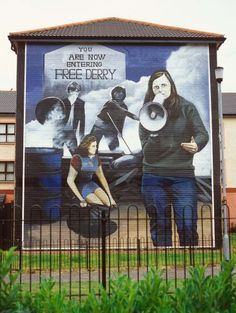 History in walls: Derry, Northern Ireland