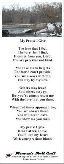 Encouraging Poems 5
