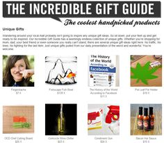 Unique Gifts by Incredible Things