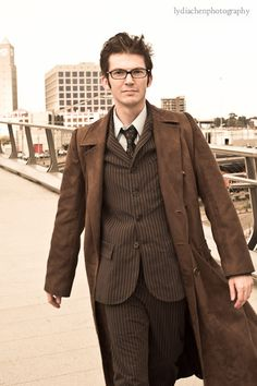 alternatecoppa as the Tenth Doctor from Doctor Who.  sc 1 st  Pinterest & Clever Doctor Who Costume and Cosplay Fun for Halloween and 50th ...