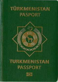 The official emblem of the state of Turkmenistan, adopted in 2003 by Saparmurat Niyazov It features a steppe horse and the same tapestry pattern seen on the state's flag. On top, a crescent and five stars. The Rub, Passport Online, Divorce Papers, Catholic University, All Currency, Visa, Ielts, How To Memorize Things, How To Apply