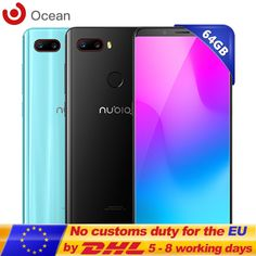"""ZTE Nubia Z18 Mini In Cellphone 5.7"""" 6G RAM 64G ROM Smartphone Octa Core 24MP+5MP Dual Rear Camera 19:8 Full Screen Mobiles New  Price: 220.11 & FREE Shipping #computers #shopping #electronics #home #garden #LED #mobiles #rc #security #toys #bargain #coolstuff 