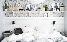 En el dormitorio de Sara se respira un ambiente marinero muy relajante