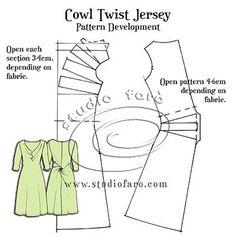 Pattern Fundamentals - Cowl Twist Jersey