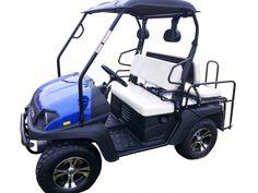 New Big Horn CUV 200GVX 4 Seat Golf Cart (Gas) - $5,698.00 Off Road Golf Cart, Gas Golf Carts, Horn, Big, Horns, Antlers