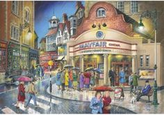 The House Of Puzzles - 1000 PIECE JIGSAW PUZZLE - Evening Out in Toys & Games, Jigsaws & Puzzles, Jigsaws | eBay