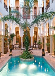 Traditional & luxe meet in the heart of Marrakech's medina.