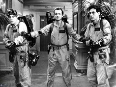 Dan Aykroyd, Bill Murray & Harold Ramis in #Ghostbusters (1984)