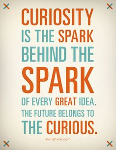 The future belongs to the curious.