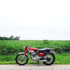 Honda CB350 #Black&Red