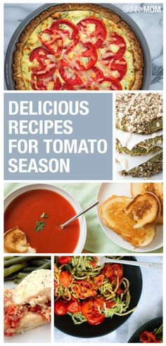 Here are 10 recipes to cook with tomatoes that mill make a perfect summer.