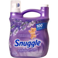 """""""Snuggle)"""" Fabric softener This is the best buy in packets is more efficient"""