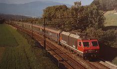 Swiss Railways, Electric Locomotive, Busses, Cinema 4d, Trains, Buses