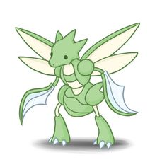 #123 Scyther by ColbyJackRabbit on DeviantArt