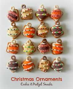 Sugar Swings! Serve Some: Christmas Ornament Cookie and Pretzel Snacks