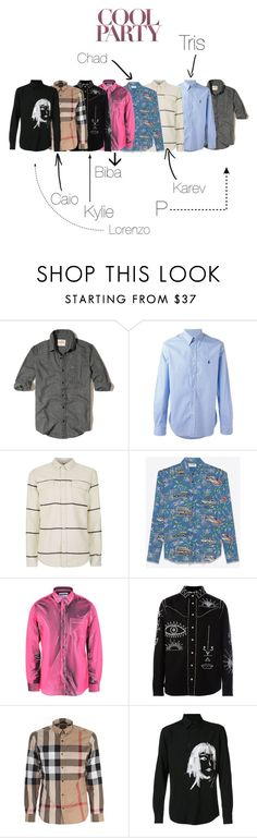 """""""Everbody"""" by vejacomotenpovoa ❤ liked on Polyvore featuring Hollister Co., Polo Ralph Lauren, Topman, Yves Saint Laurent, Moschino, Valentino, Burberry, Yohji Yamamoto, men's fashion and menswear"""