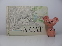 Vintage 1963 Book A Cat Story Told In Pictures By by pipipompon, $12.00