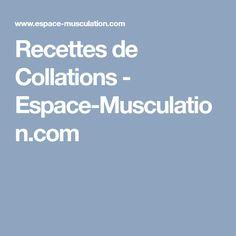 Recettes de Collations - Espace-Musculation.com