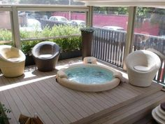 In-ground or out-ground. The possibilities are endless with our Softub. Hot tubs are so beneficial to everyday life and can really aid in stress relief and relaxation. Wouldn't it be nice to end the day slipping into this hot tub.