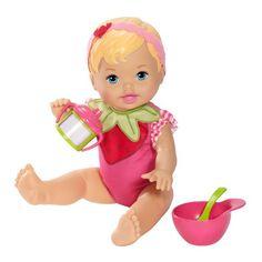 Boneca Little Mommy - Comidinha Moranguinho - Mattel